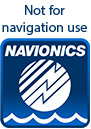 Navionics Charts - Not for navigation use